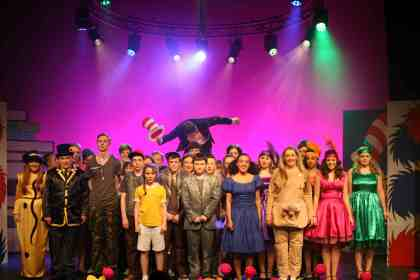 The 36 strong cast of FCT's Seussical the Musical